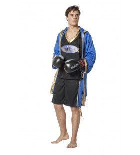 Technische Knock Out Bokser Man Kostuum