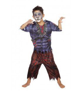 Scherpe Tanden Weerwolf Kostuum