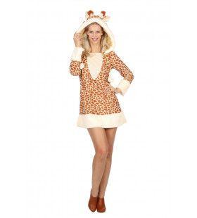 Lange Benen Giraffe Vrouw Kostuum