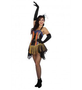 Trapezewerker Circus Show Vrouw Kostuum