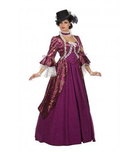 Markiezin Viola Van Versailles Vrouw Kostuum