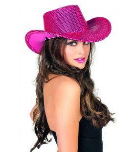 Cowboyhoed Pailletten Tina Topper