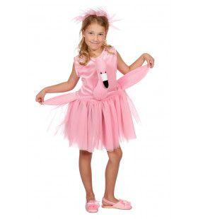 Zachte Flamingo Middellandse Zee Lagune Meisje Kostuum