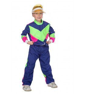 Jaren 80 Trainingspak Zo Fout Als Maar Kan Kind Kostuum