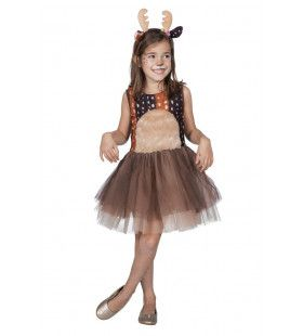 Bambi Rendier Veluwe Hert Meisje Kostuum