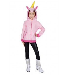 Mythisch Fabeldier Roze Eenhoorn Hoodie Meisje