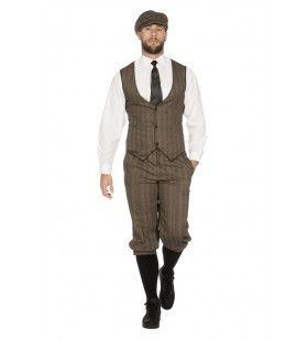 Roaring 20s Set Bruinjohn Peaky Man Kostuum