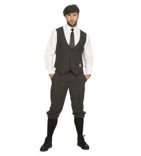 Roaring 20s Set Arthur Peaky Man Kostuum