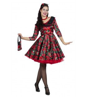 A Whole Lot Of Rosie Jaren 50 Rozen Vrouw Kostuum