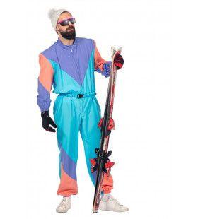 Fout 80s Ski-Pak Man Kostuum