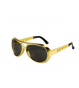 Gouden Elvis Zonnebril