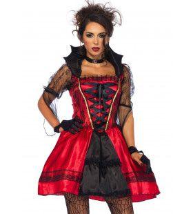 Roemeense Bloederige Vampier Vrouw Kostuum