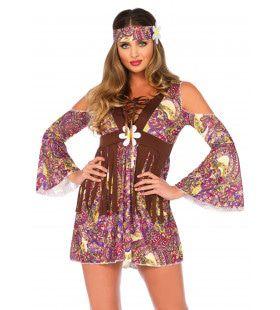 Hot Francisco Hippie Vrouw Kostuum