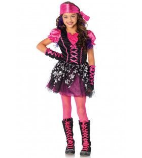 Wonderland Pirate Cutie Meisje Kostuum