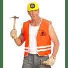 Oranje Wegwerker Vest, Volwassen
